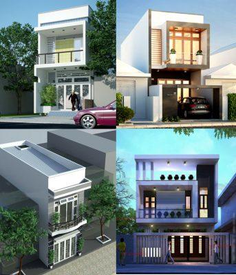 Thiết kế nhà lô phố 2,5 tầng tại Vĩnh Phúc