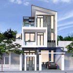 Thiết kế nhà 3 tầng hiện đại nhà anh ông Tuấn tại Vĩnh Phúc