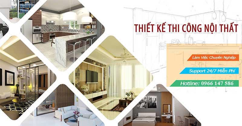 Công ty thiết kế thi công nội thất tại Vĩnh Phúc