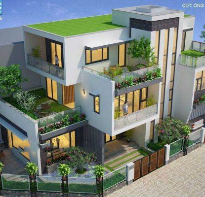 Thiết kế mẫu nhà đẹp 2021