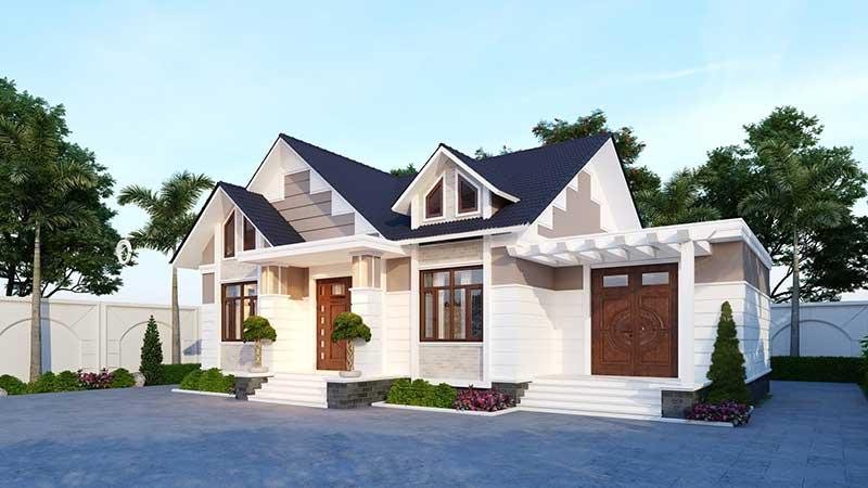 Thiết kế kiến trúc nhà vườn Vĩnh Phúc