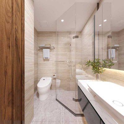 Nội thất phòng wc 1 – Góc View 1