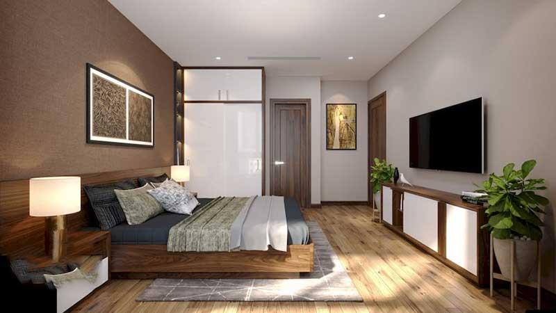 Nội thất phòng ngủ Master – Góc view 3