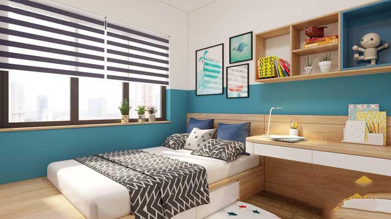 Phòng ngủ trẻ em ấn tượng, hấp dẫn