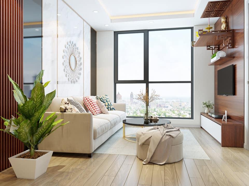 Thiết kế thi công nội thất chung cư Ecohome Nam Thăng Long - Hà Nội