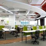 Thiết kế văn phòng công ty đẹp tại Vĩnh Phúc
