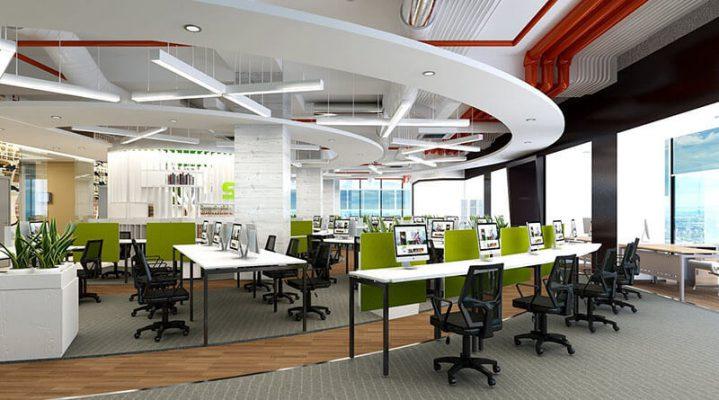Thiết kế văn phòng đẹp giá rẻ tại Vĩnh Phúc