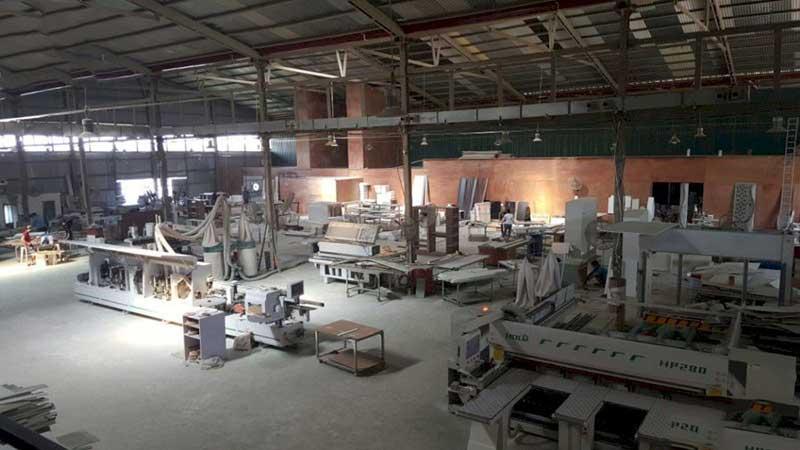 3 xưởng sản xuất nội thất lớn với quy mô + 6000m2 tại Hà Nội