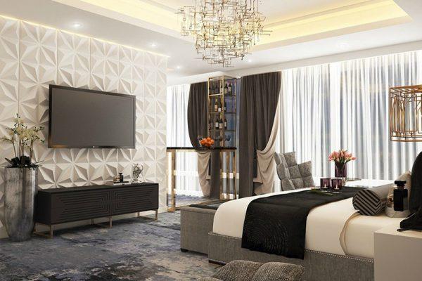 Phòng ngủ master - Chị Lan Vĩnh Yên-Vĩnh Phúc