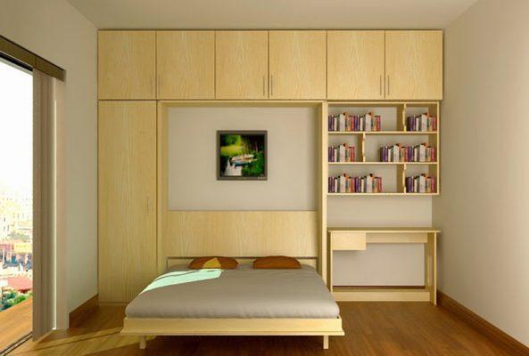 Phong ngủ với nội thất thông minh