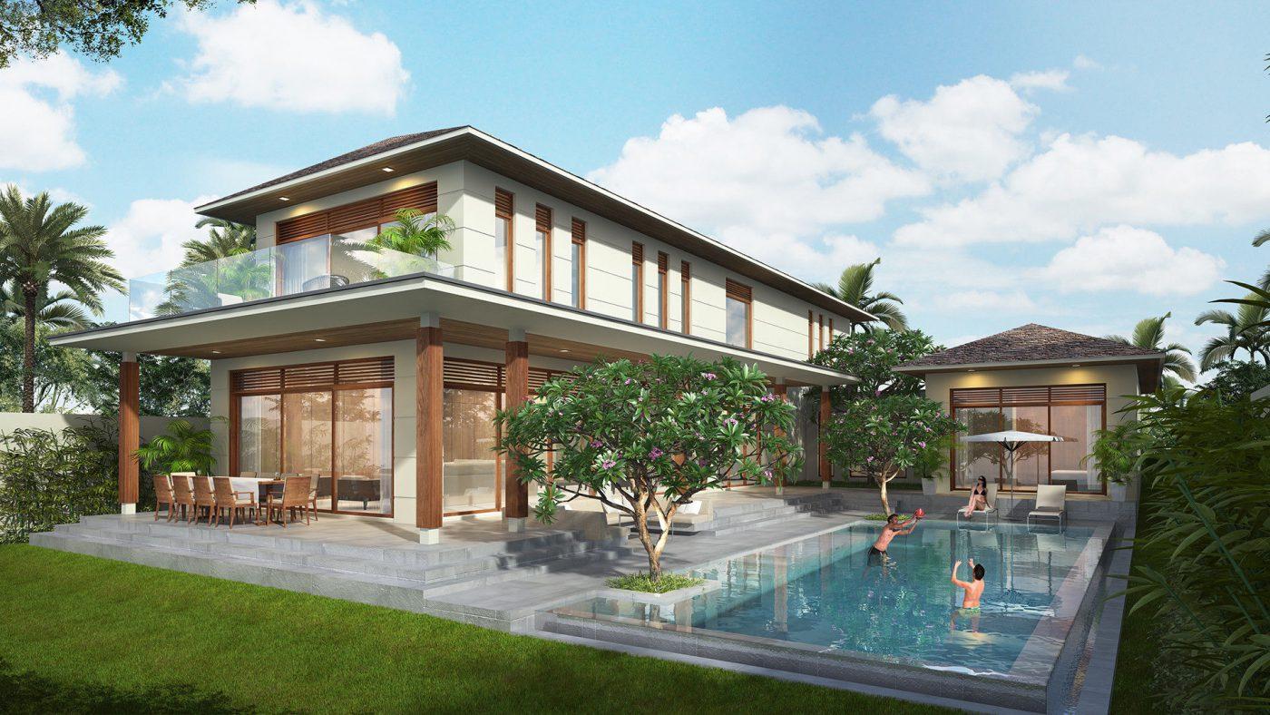 Thiết kế thi công biệt thự vườn tại Vĩnh Phúc