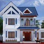 Thiết kế nhà 2 tầng mái thái tại Vĩnh Phúc