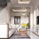 Thiết kế thi công nội thất tân cổ điển chị Thảo tại Quảng Ninh