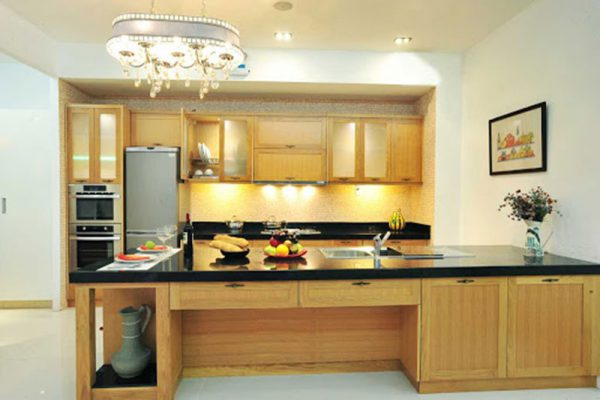 Thiết kế nội thất không gian bếp đơn giản