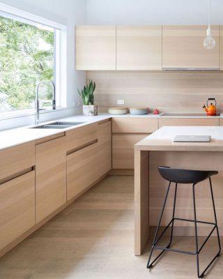 Nội thất bếp đơn giản cho chung cư