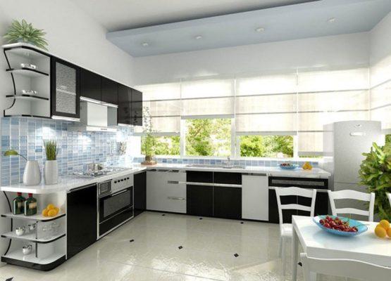 Thiết kế không gian mở cho gian bếp nhà bạn