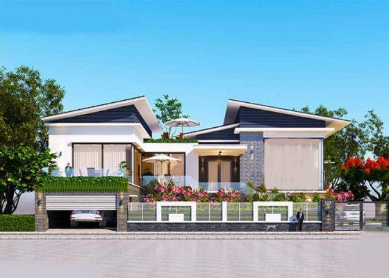 Thiết kế thi công biệt thự tại Vĩnh Phúc