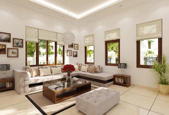 Sắp xếp nội thất không gian phòng khách