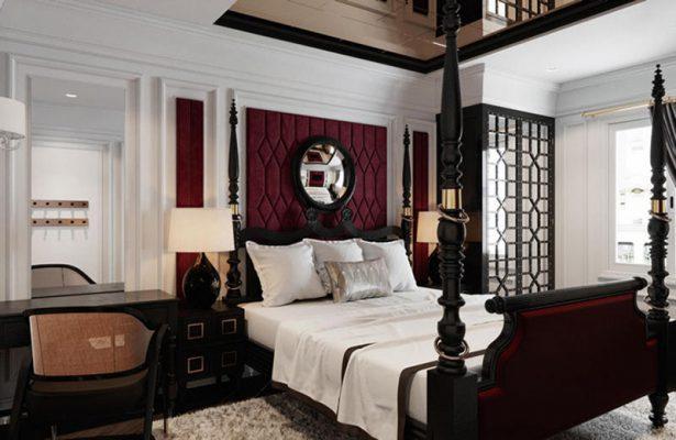 Nội thất gỗ phong cách cổ điển trong khách sạn