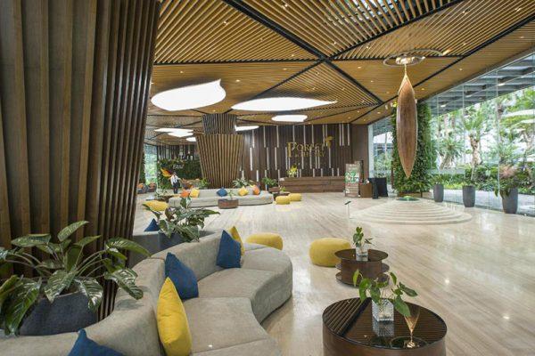 Không gian nhà hàng tại khách sạn