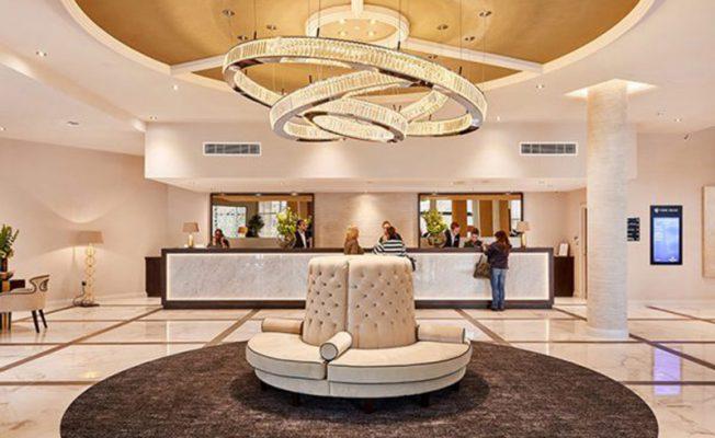Sảnh đón khách của khách sạn 4 sao