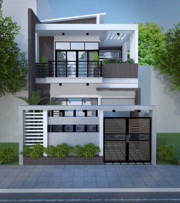 Điểm nổi bật của Mẫu thiết kế nhà phố 2 tầng 7m