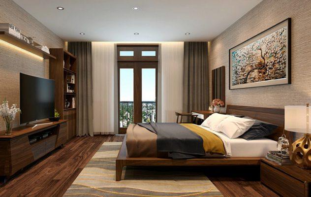 Phòng ngủ nhà cấp 4 hiện đại
