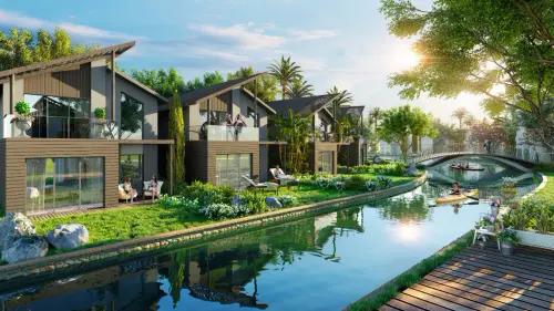 Thiết kế nhà vườn ven hồ tại Vĩnh Phúc
