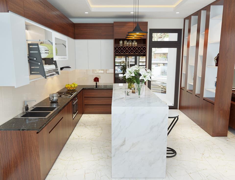 Phòng bếp nhà Anh Khoa - Vĩnh Yên - Vĩnh Phúc