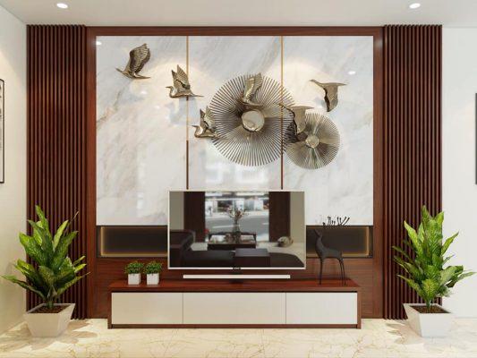 Thiết kế thi công phòng khách nhà Anh Khoa - Vĩnh yên - Vĩnh Phúc