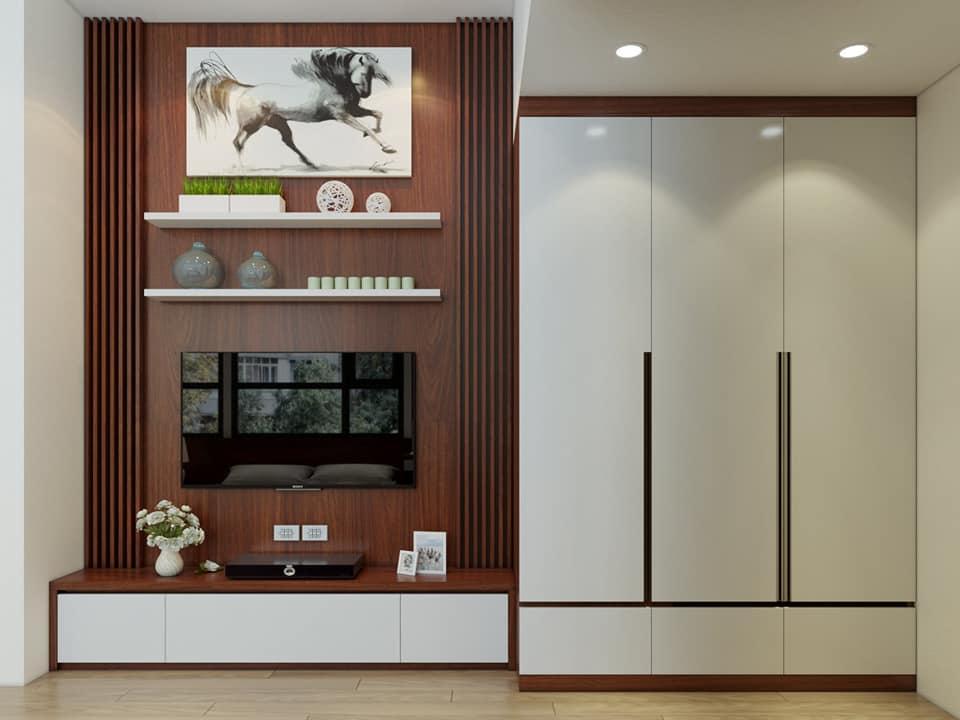 hiết kế thi công phòng khách nhà Anh Khoa - Vĩnh Yên - Vĩnh Phúc