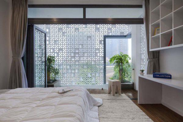 Phòng ngủ nhà hướng tây