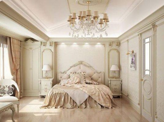 Phòng ngủ trong biệt thự liền kề