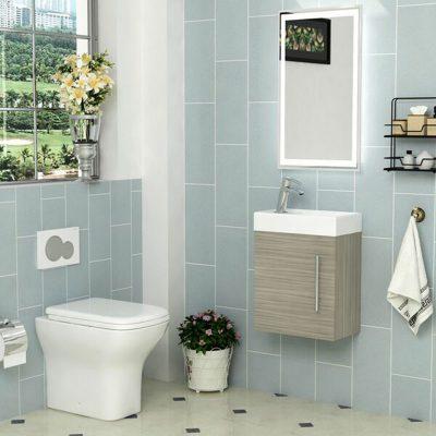 Nội thất phòng tắm hiện đại đơn giản