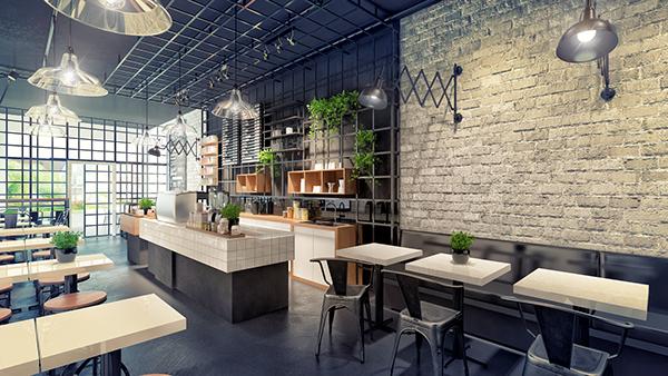 Thi công nội thất quán cà phê tại Vĩnh Phúc