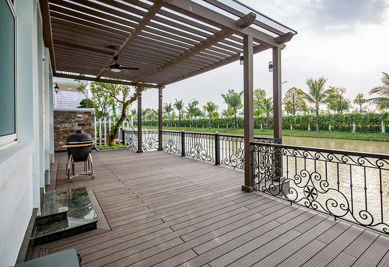 Không gian thiết kế kiến trúc View Hồ