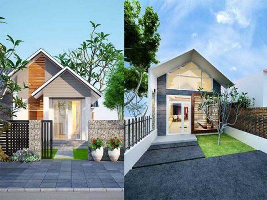 Thiết kế nhà cấp 4 tại Vĩnh Phúc