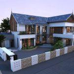 Thiết kế và thi công nhà vườn mái thái tại Vĩnh Phúc