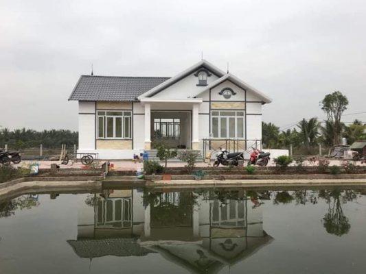 Thiết kế nhà vườn ven hồ