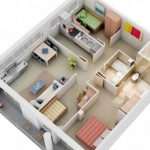 Thiết kế nội thất chung cư 3 phòng ngủ tại Vĩnh Phúc