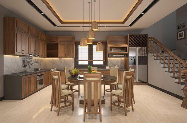 Thiết kế nội thất không gian bếp