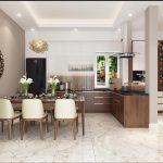 Thi công nội thất phòng bếp tại Vĩnh Phúc