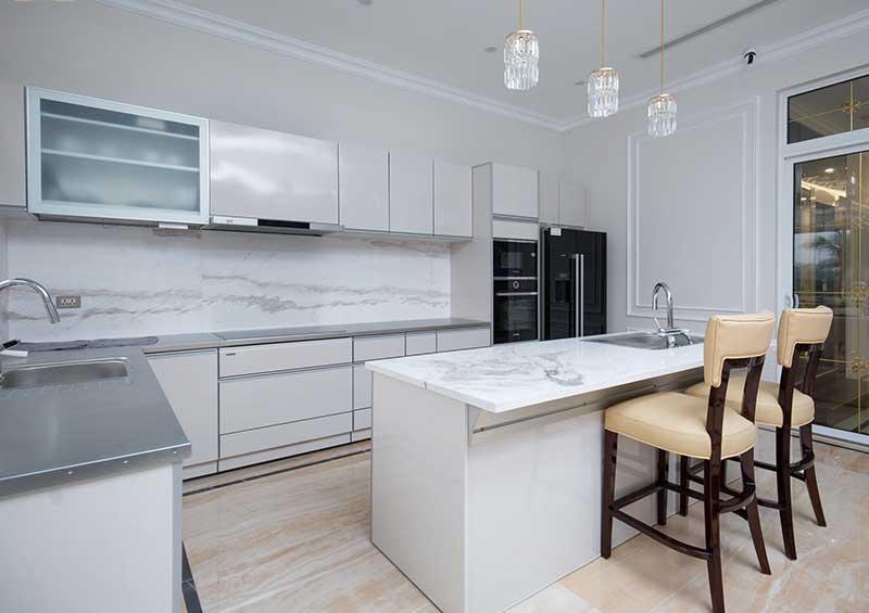Thiết kế nội thất tân cổ điển Phòng bếp Cao cấp
