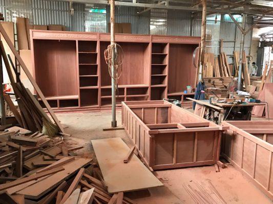 Xưởng nội thất gỗ tại Vĩnh Phúc