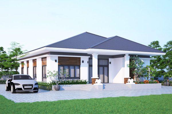 Các mẫu nhà vườn thiết kế dưới 1 tỷ tại Vĩnh Phúc