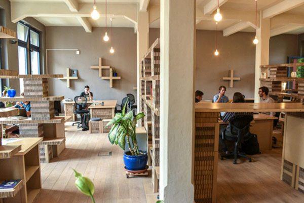 Không gian nội thất cafe văn phòng