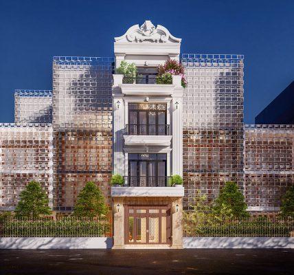 Thiết kế nhà ống 3 tầng chị Mai Vĩnh Yên Vĩnh Phúc