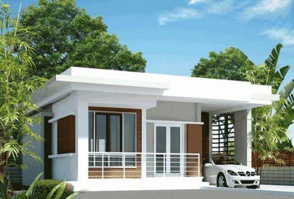 Thiết kế thi công nhà cấp 4 mái bằng tại Vĩnh Phúc