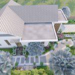 Thiết kế thi công nhà vườn anh Hảo tại Tam Đảo Vĩnh Phúc