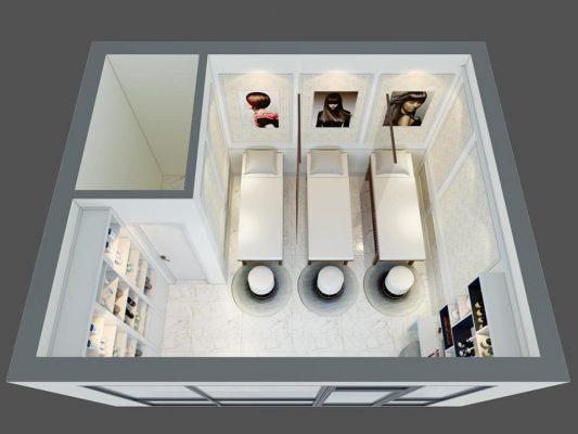 Công ty thiết kế thi công nội thất SPA tại Vĩnh Phúc